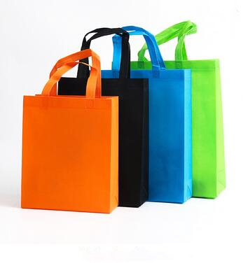small handle bag high quality custom printed nonwoven garment bag