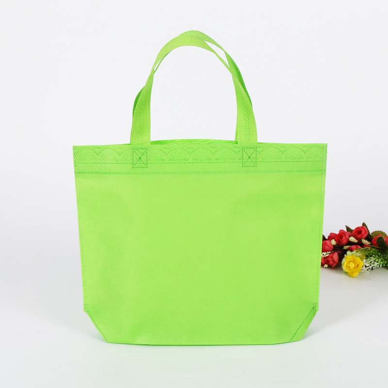 bags with logo print for pla nonwoven fabric bag