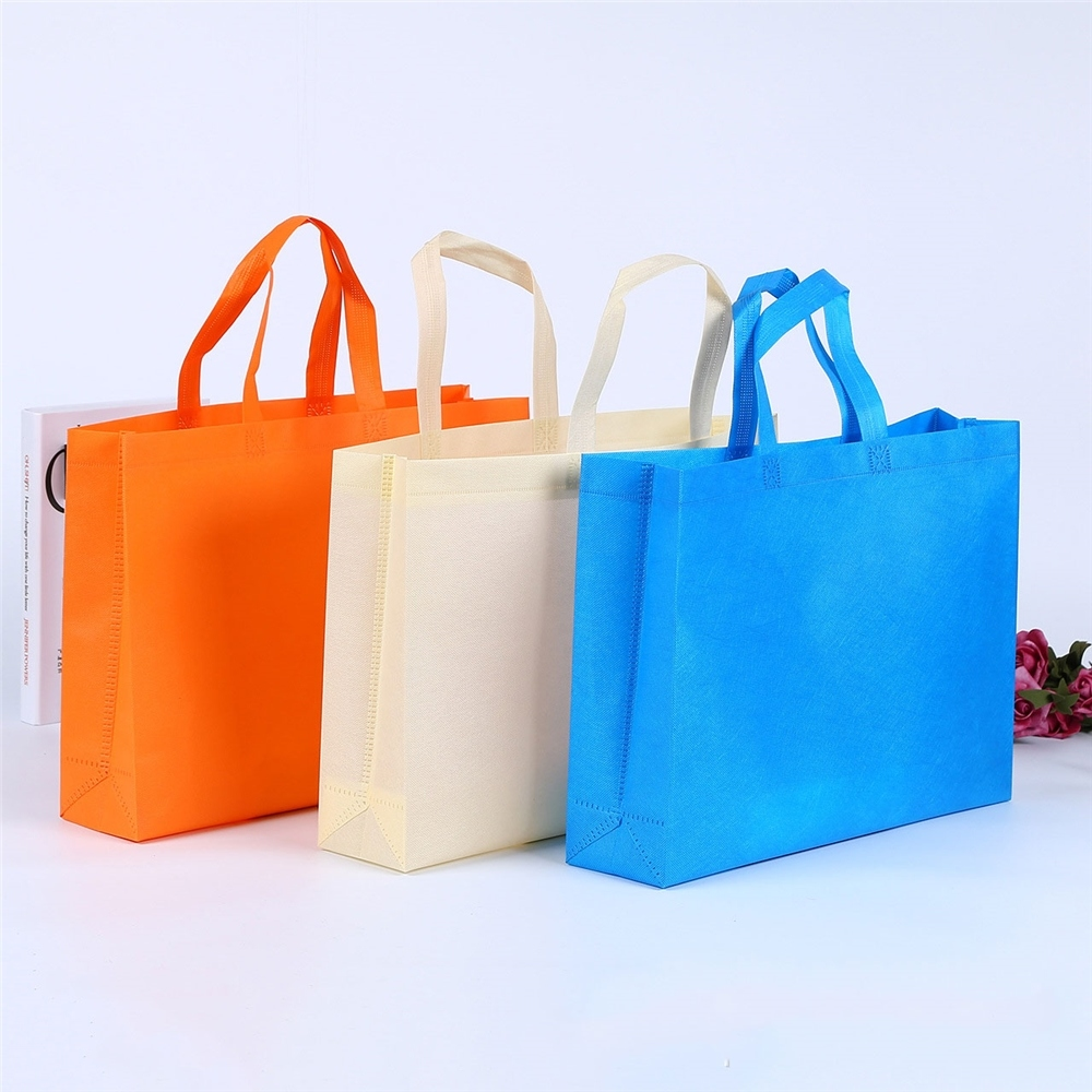 fabric bags logos with logo pp nonwoven shopping bag