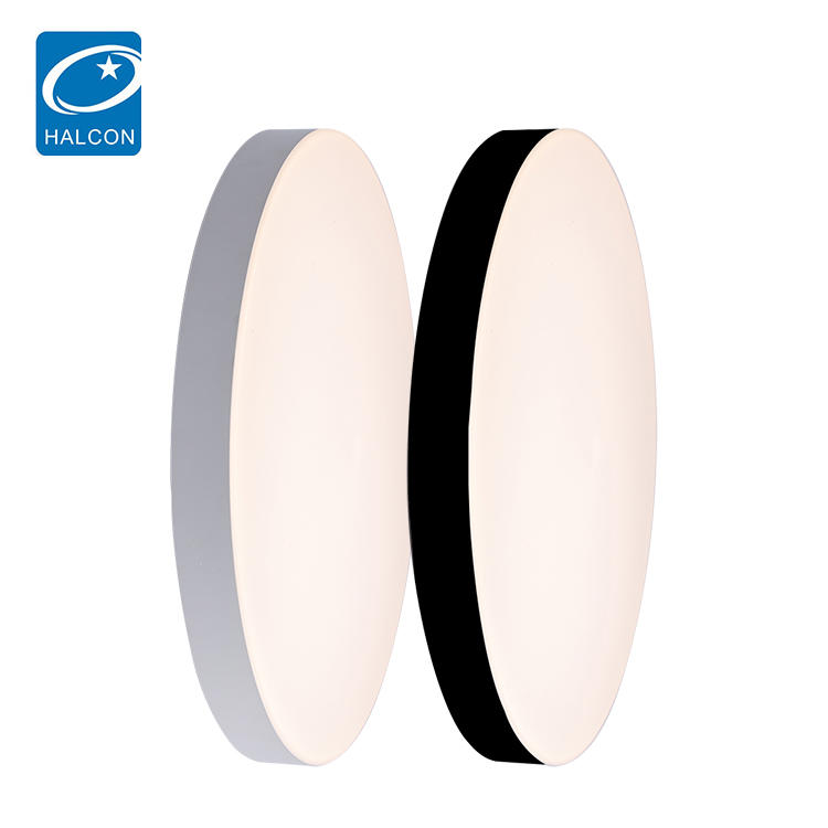 Round plastic ultra-thin living room bedroom lamps balcony office 30 45 60 w led ceiling lamp