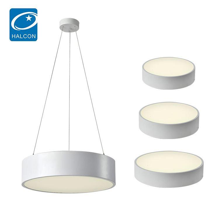 Hot sale mounted surface 24 30 36 48 w led pendant lamp