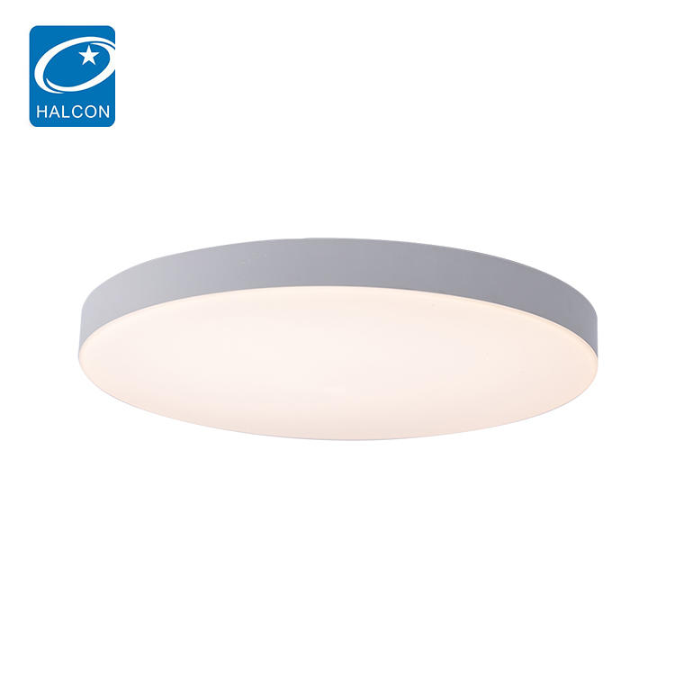 Modern Round dimmer Lights Black White 30watt 45watt 60watt LED Ceiling Light