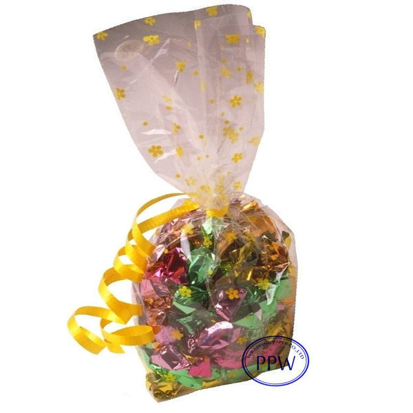 Printed Cellophane Bag Wholesale for Candy and Gifts