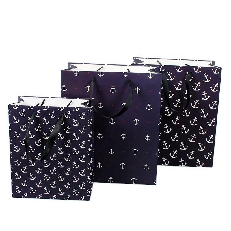 New print leopard print handbag CYMK gift bag packaging paper bag wholesale manufacturers customized