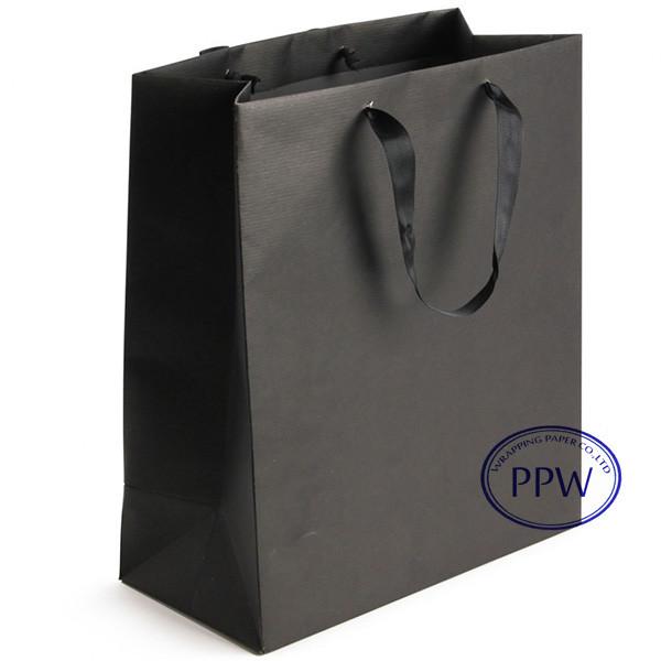 Gift paper bags paper bag design handmade paper black bags