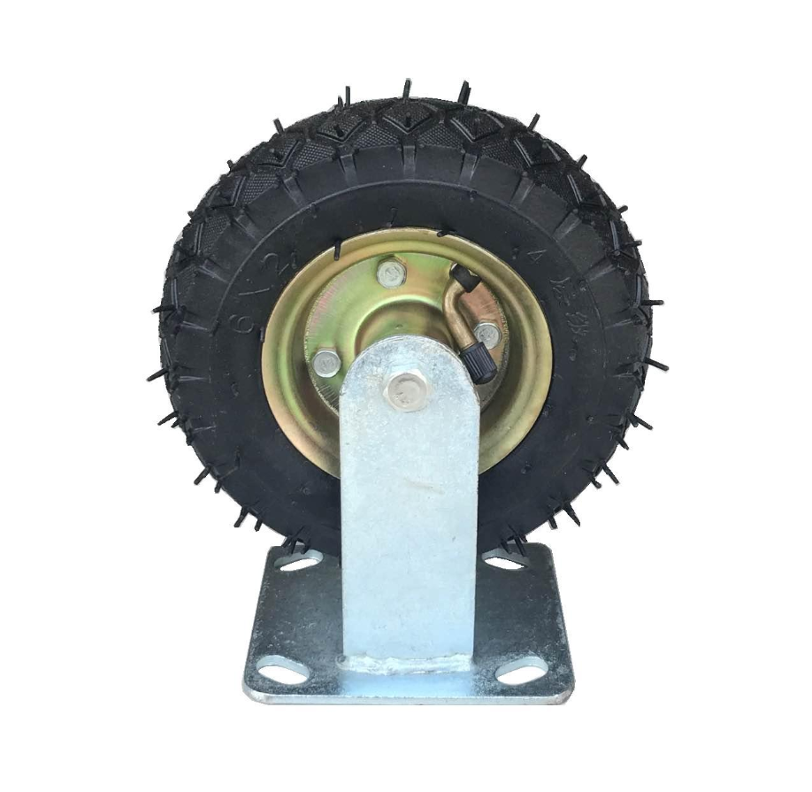 Natural 4/6/7/8/10/14 Inch Rubber Wheel
