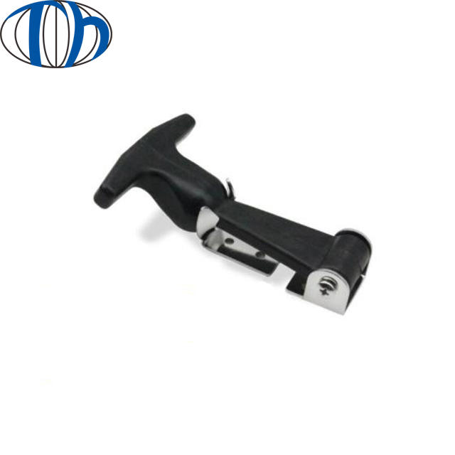 OEM epdm Rubber Parts Mechanical High Quality Flexible T Handle Rubber hood Latch