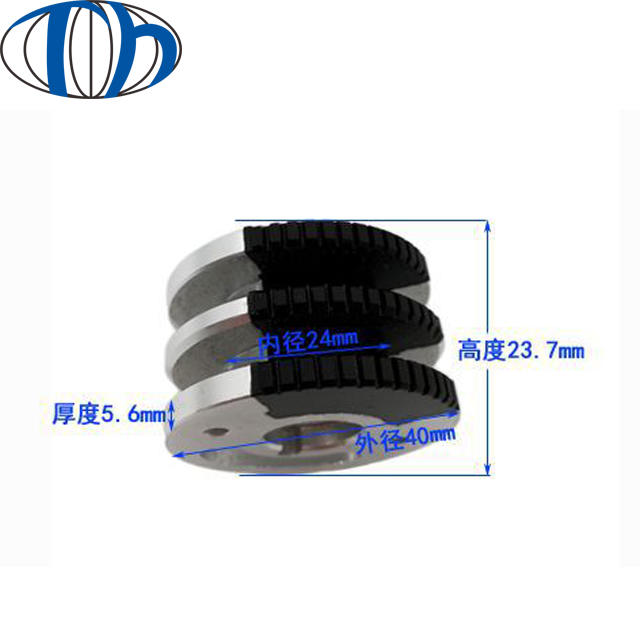 Hot selling customized china Money counter rubber roller