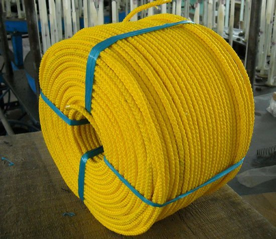 marine polyester hdpe rope for ship and boat mooring plastic MFP pp rope