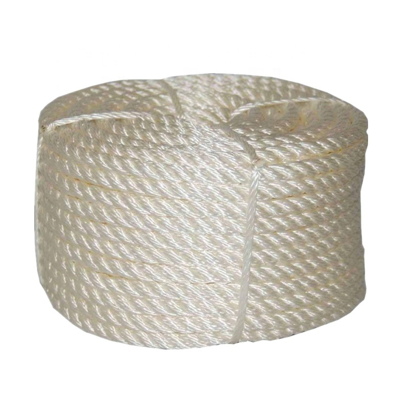 High Quality Nylon 3 Strand Twisted Anchor Line Boat Mooring Rope