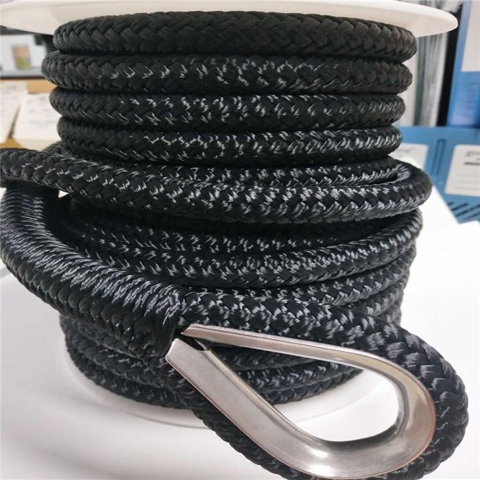 3/8 50ft nylon boat anchor rope boat parts marine hardware