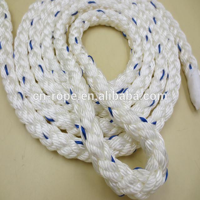 8 strand nylon marine rope Mooring rope Anchor line boat anchor rope