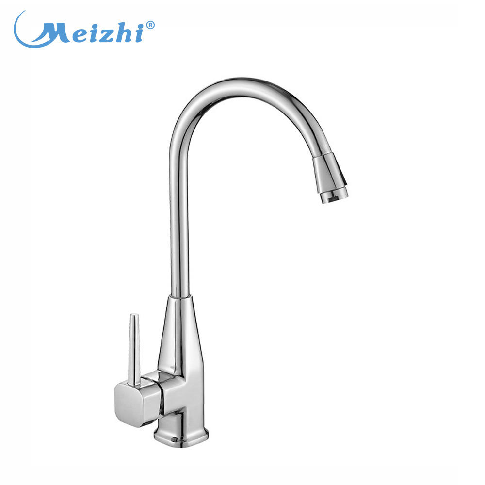 Commercial brass faucet for kitchen sink