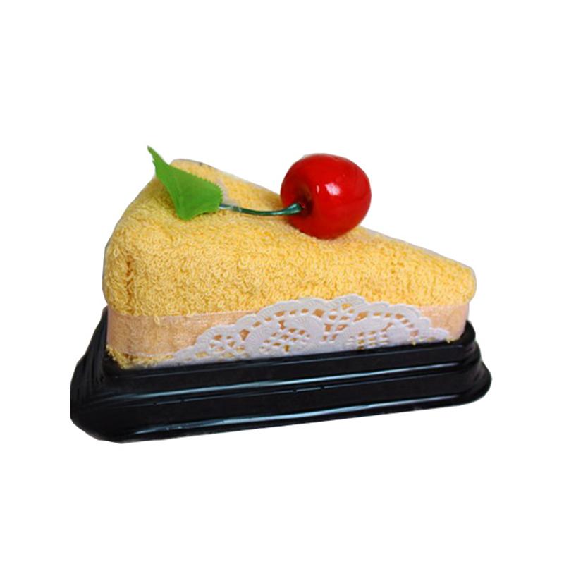 luxury custom creative Christmas/wedding gifts cupcake souvenir cake gift towel