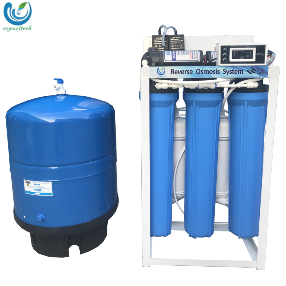 600GPD Ro water purification machine commercial pure water machine with pressure tank