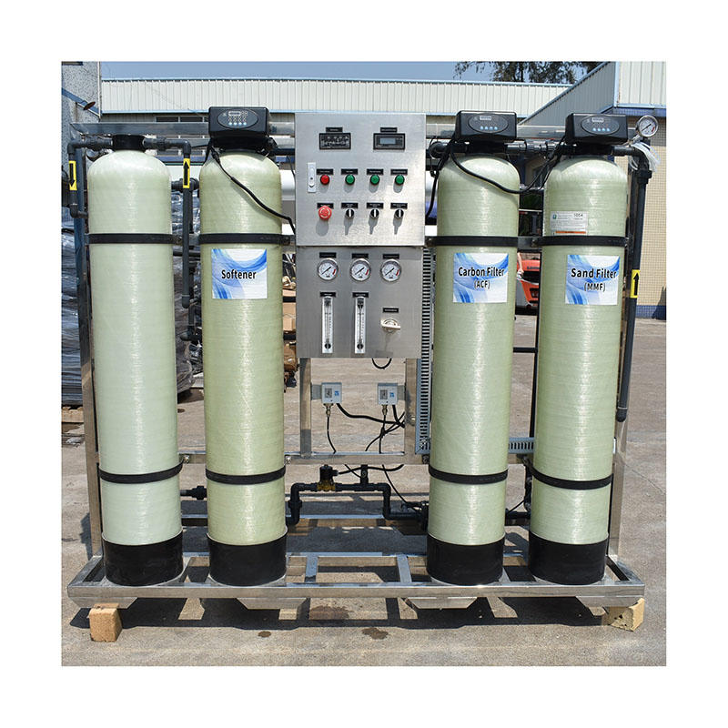 500LPH purify ro system medical stone filter reverse osmosis water treatment systems