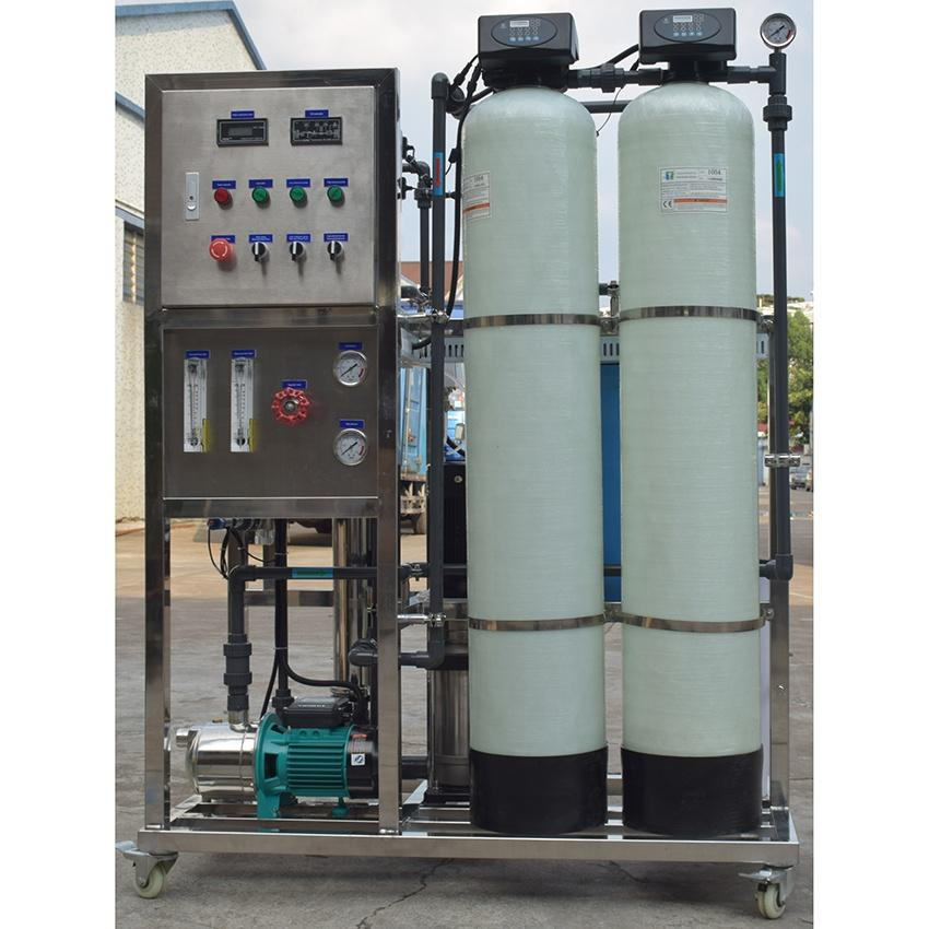 commercial reverse osmosis system mineral mobile water treatment plant
