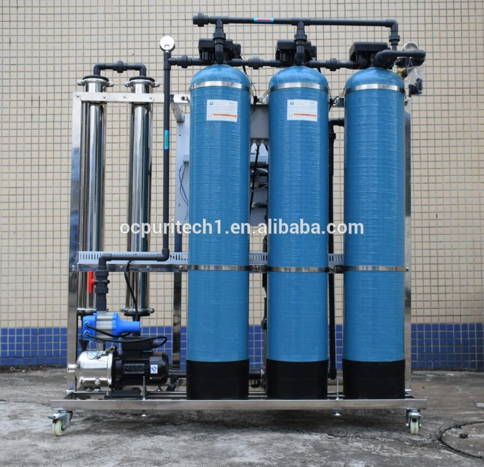 500LPH reverse osmosis(RO) underground/ borehole / drill/ well water filter equipment