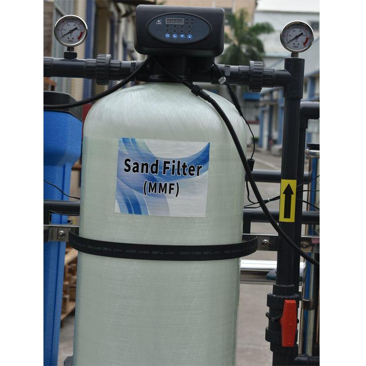 750 litres per hour capacity ro drinking watermachine underground water treatment