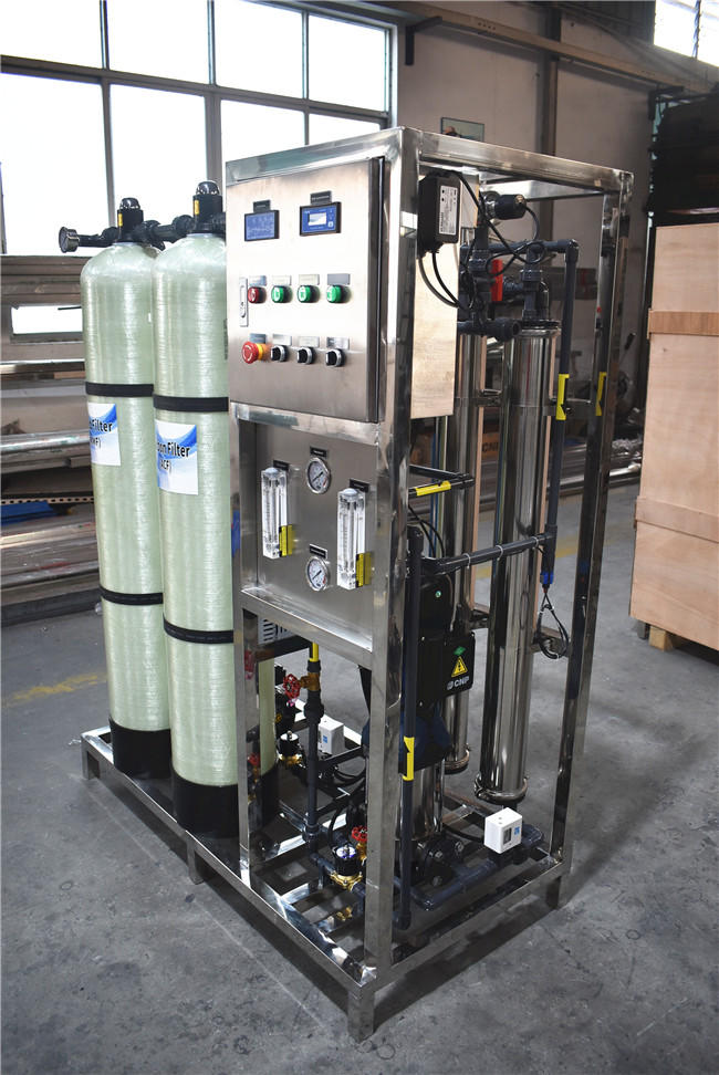 500LPH purify ro system manufacturer borehole water treatment system