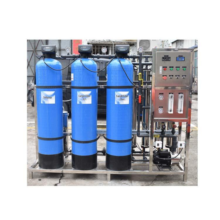 price of 1000 lph pure water treatment equipment reverse osmosis ro plant