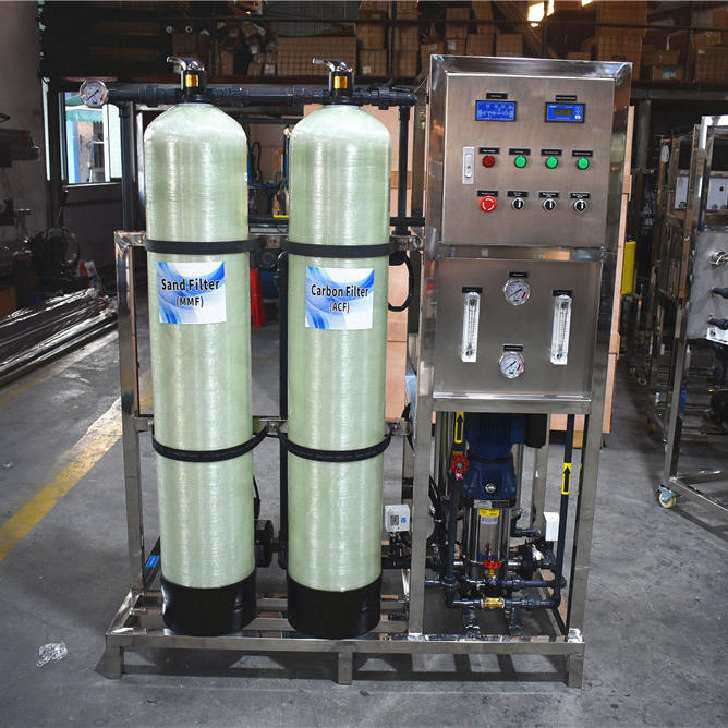 500LPH RO Reverse osmosis System water treatment machine