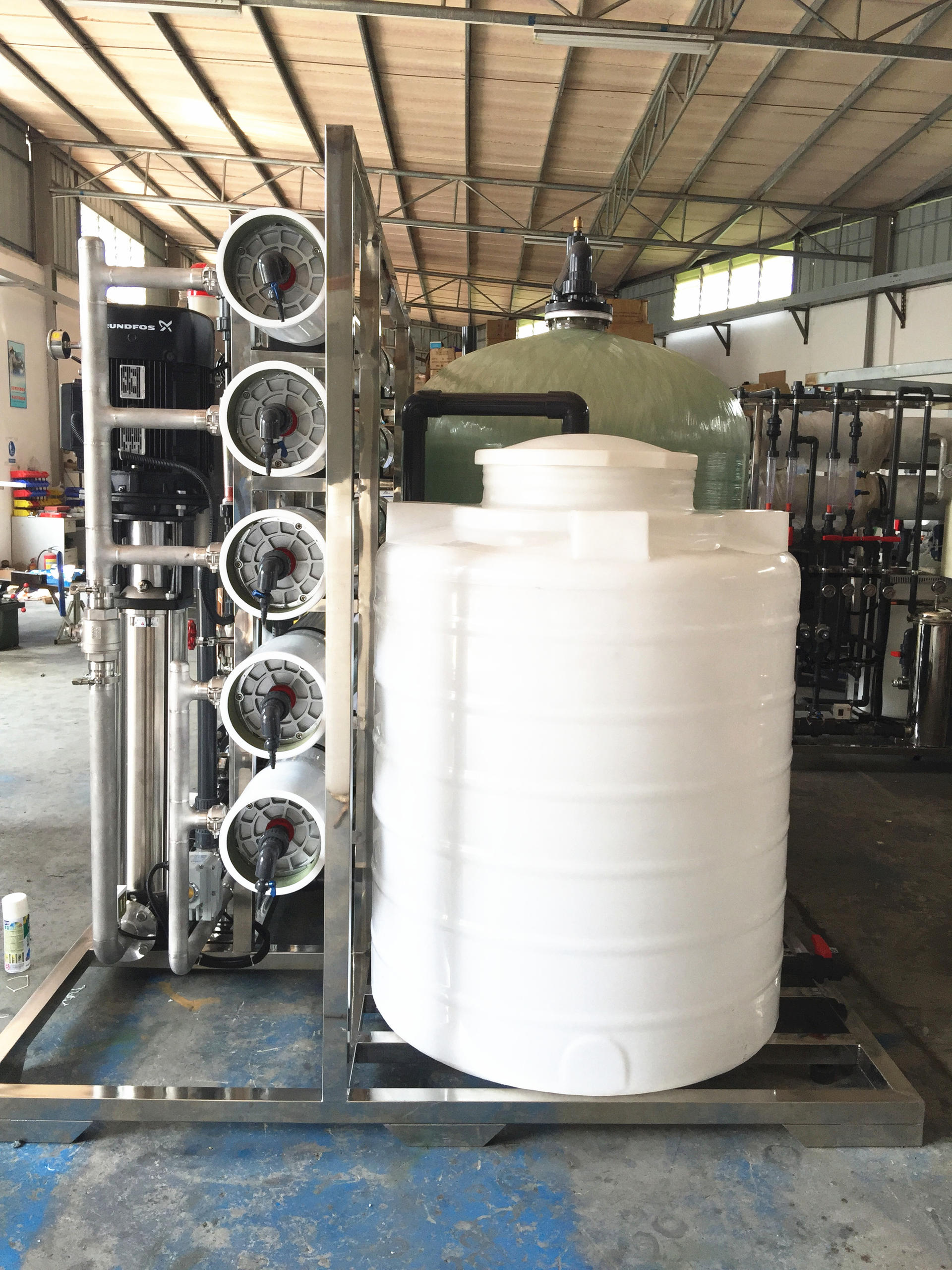 Massive Water Treatment 10000 LPHro water plant price for 10000 liter