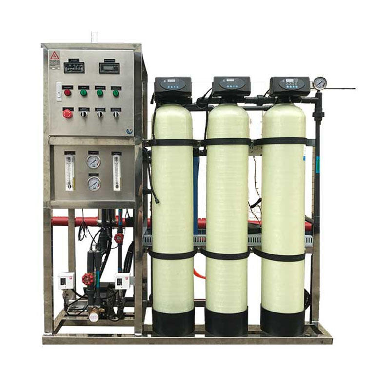 800 GPD industrial ro reverse osmosis system small mineral water plant cost