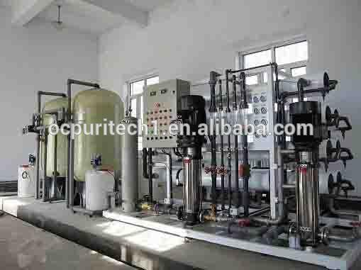 Sand and Carbon FIlter RO reverse osmosis plant for purifying water