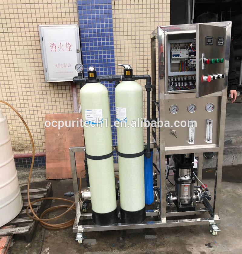 800GPD RO Water Treatment Plant Drinking Water Purification Machine