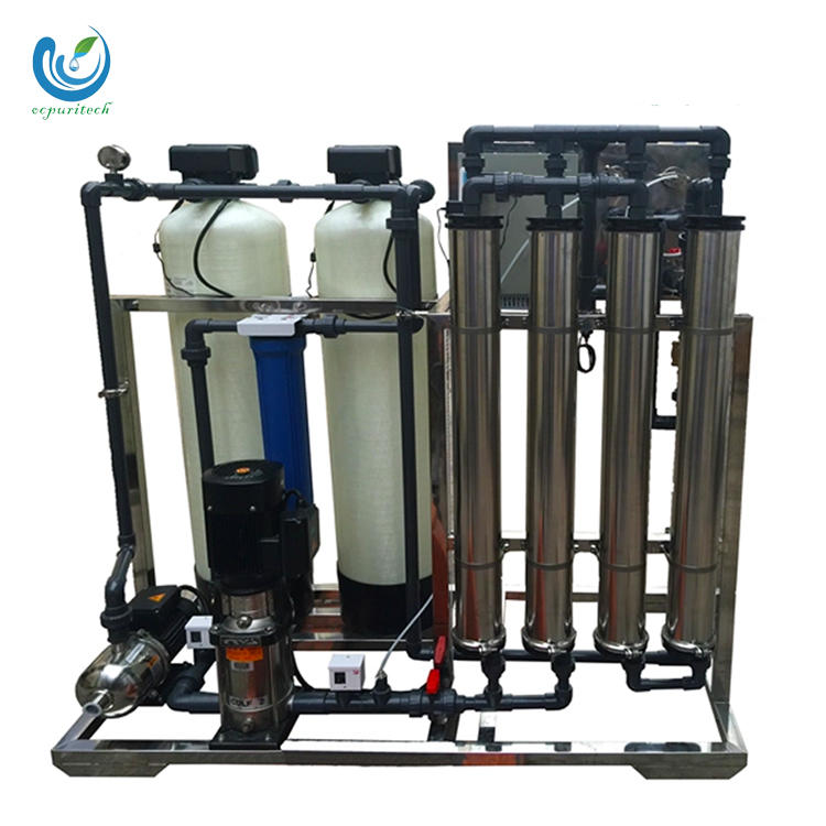 Faucet ro water treatment plant price for 1000 liter per hour