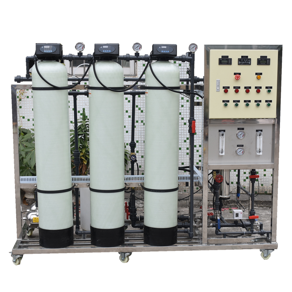 250LPH Automatic Purified Small RO Plant Water Treatment System Company