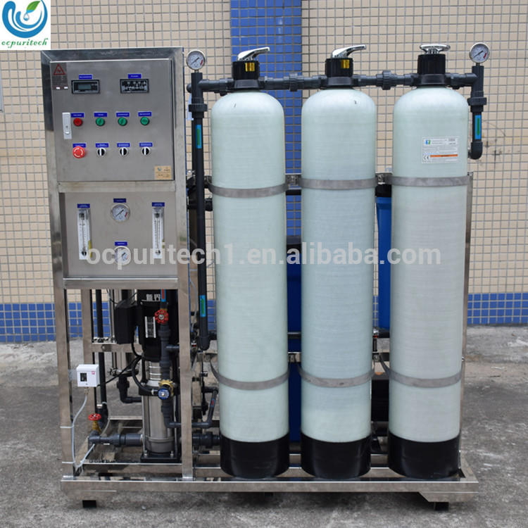 Water RO Plant Factory Direct Sell 500LPH With Vontron RO Membrane