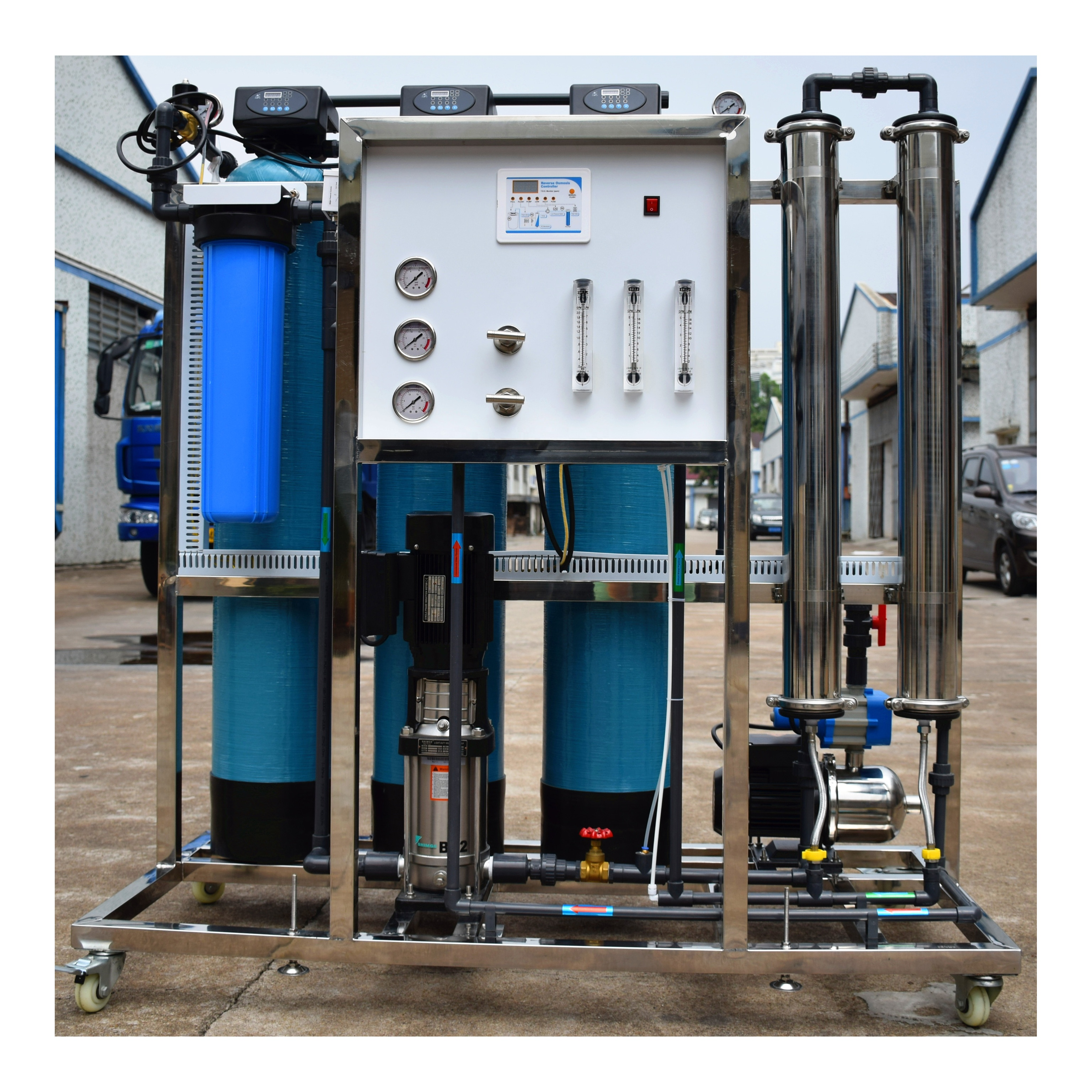 Guangzhou Filtration System Portable Water Purifier Industrial RO Water  Treatment Plant-Ocpuritech