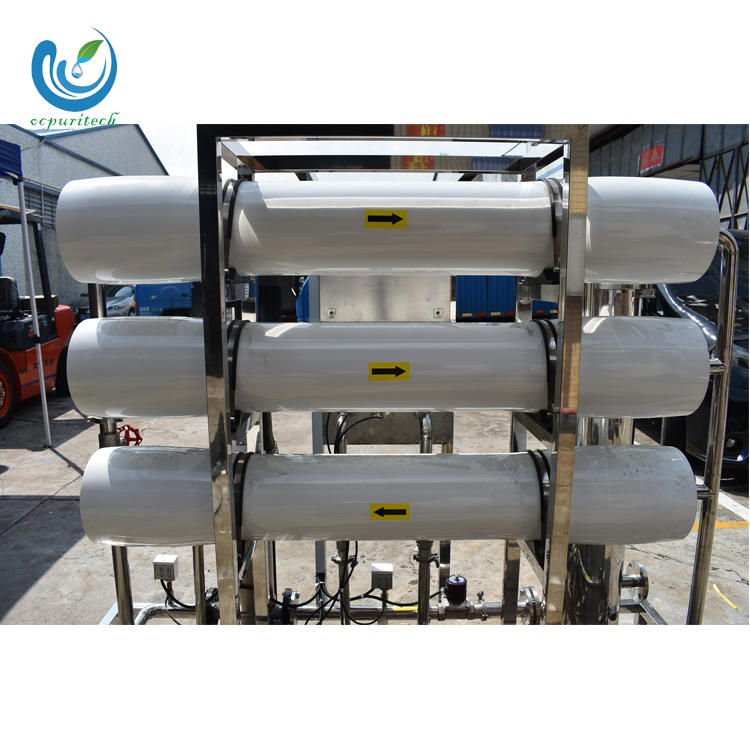 Water filter ro connector with sea water ro membrane for water treatment