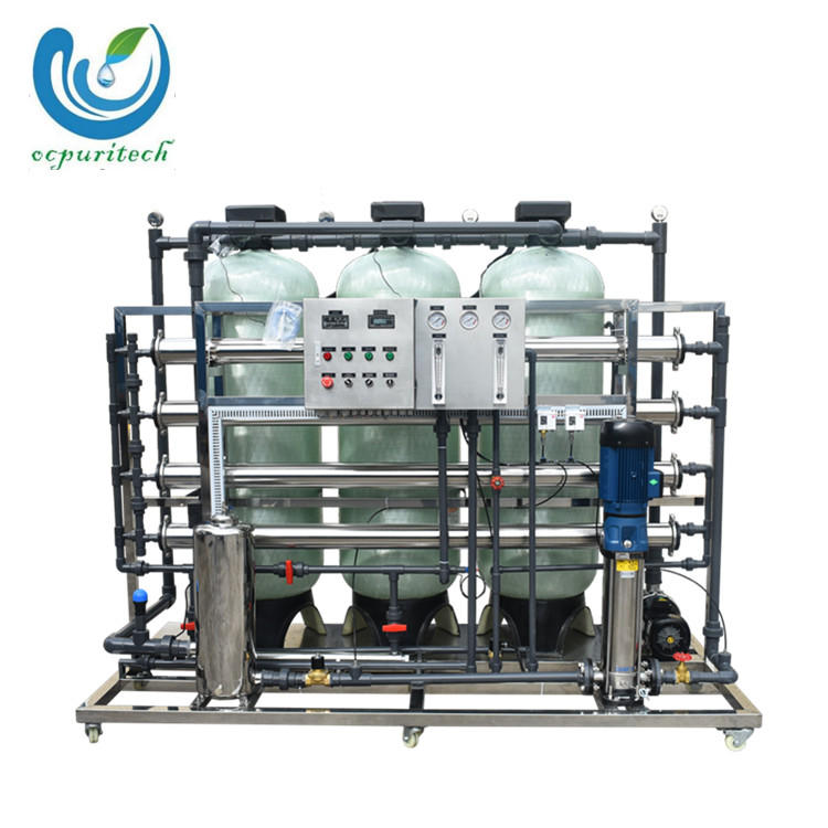 Factory wholesale 2000LPH Fully automatic reverse osmosis water treatment system