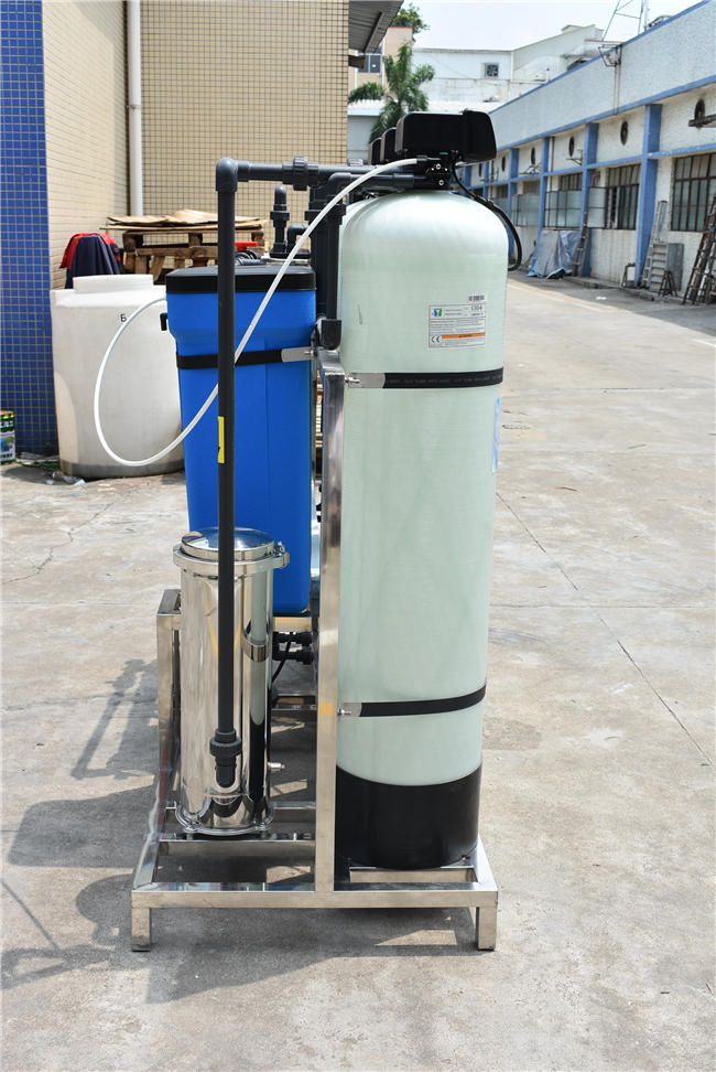 Reverse Osmosis 1000lph Industry Small Scale Ro Water Treatment Plant Process Life Purification Filter System Equipment Machine