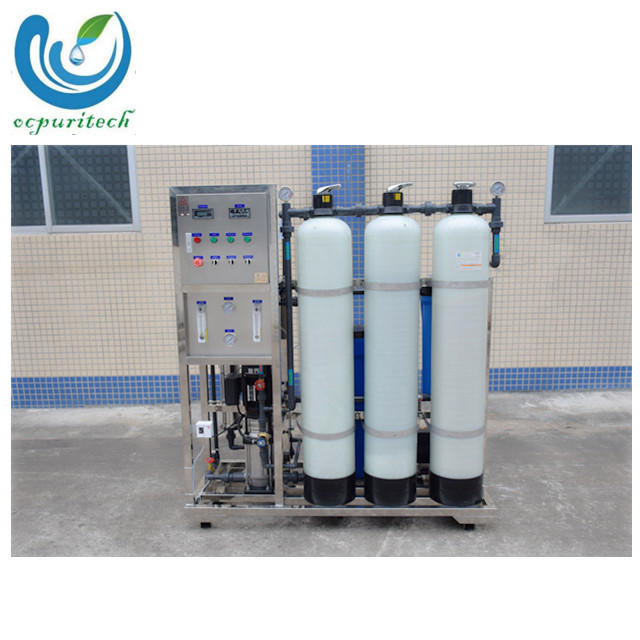 cheap small mineral drinking water RO Purification grey water treatment plant