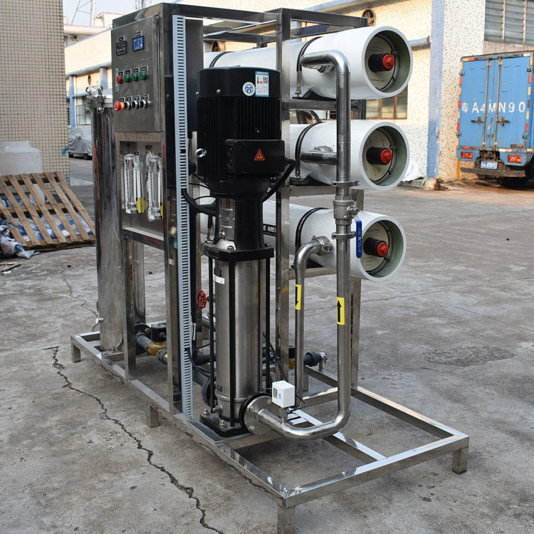 Stainless Steel 3000 LPH Water Purifier Machine RO Plant