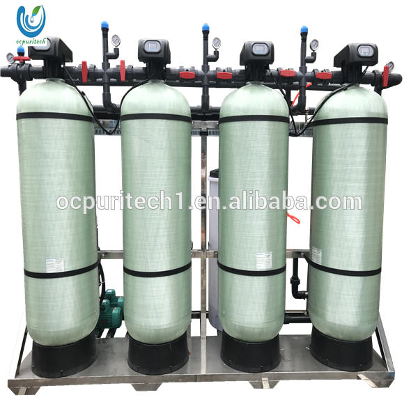 Portable reverse osmosis water treatment storage tank plant for industry