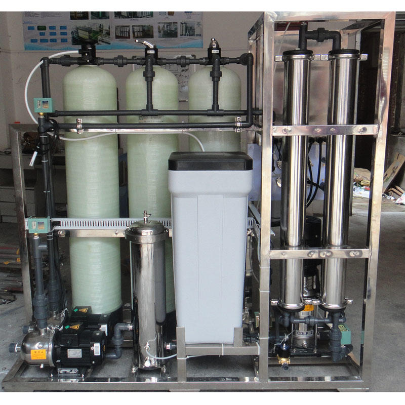 500 Lph Ro Plant Small Reverse Osmosis China Design Commercial Deep Well Purification Price Drinking Water Treatment System Cost