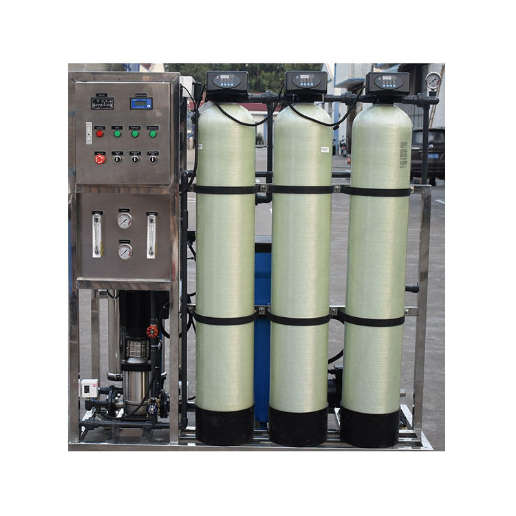 CE certificate Top quality 500LPH RO Auto Valve Reverse osmosis water treatment machine