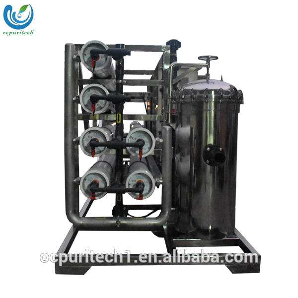 25TPH ro water filter purifier system cabinet without electricity with 80 40 ro membrane housing