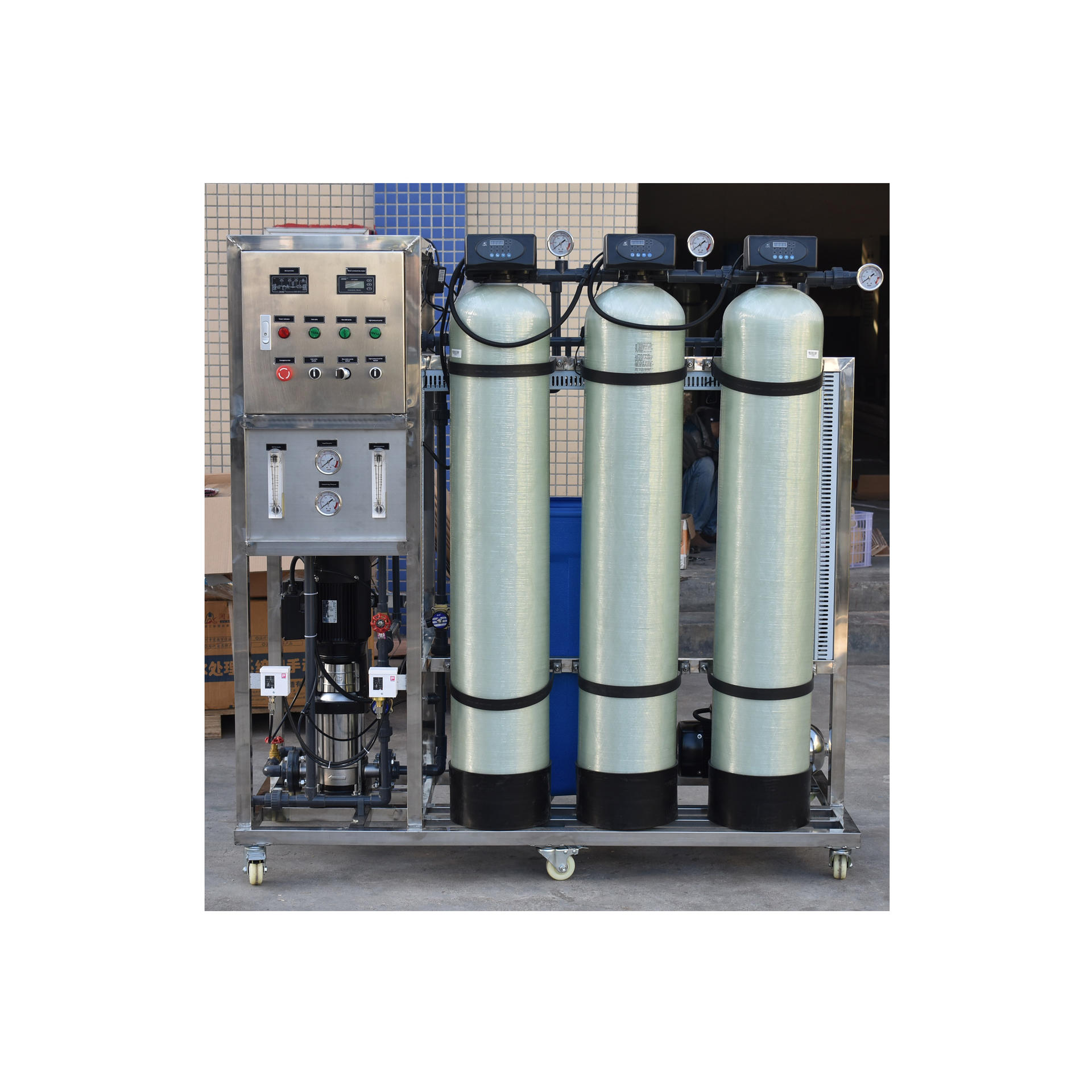 250 liter per hour reverse osmosis clean water machine for sale