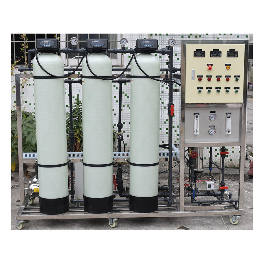 250lph ro pure water treatment plant mineral water plant