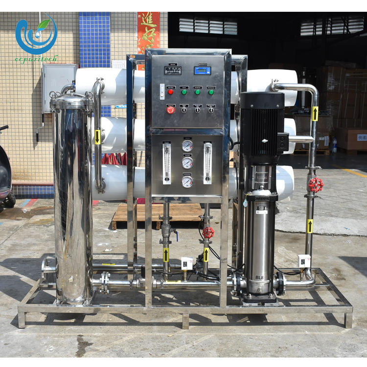 Mineral ball salt water treatment with reverse osmosis system for sale