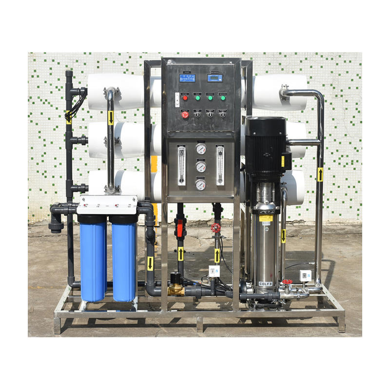 3 Ton Reverse osmosis container water treatment plant
