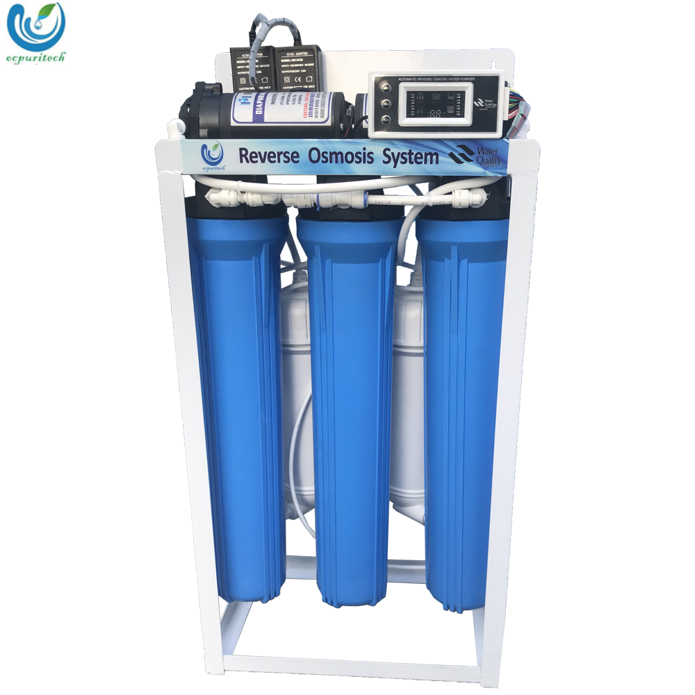 600GPD manual-flush commercial ro water purifier /purification system