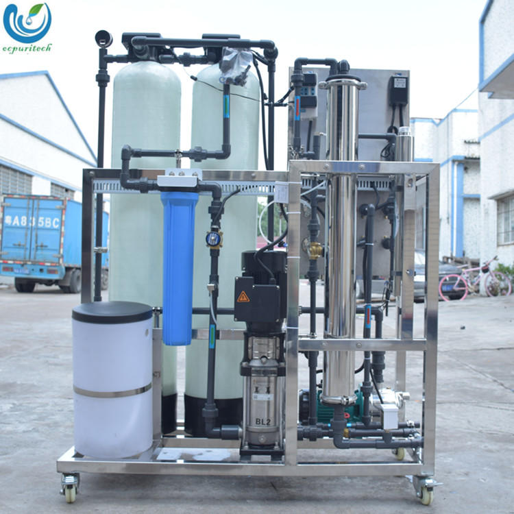 500LPH drinking water treatment equipment plant with price with Automatic sand carbon