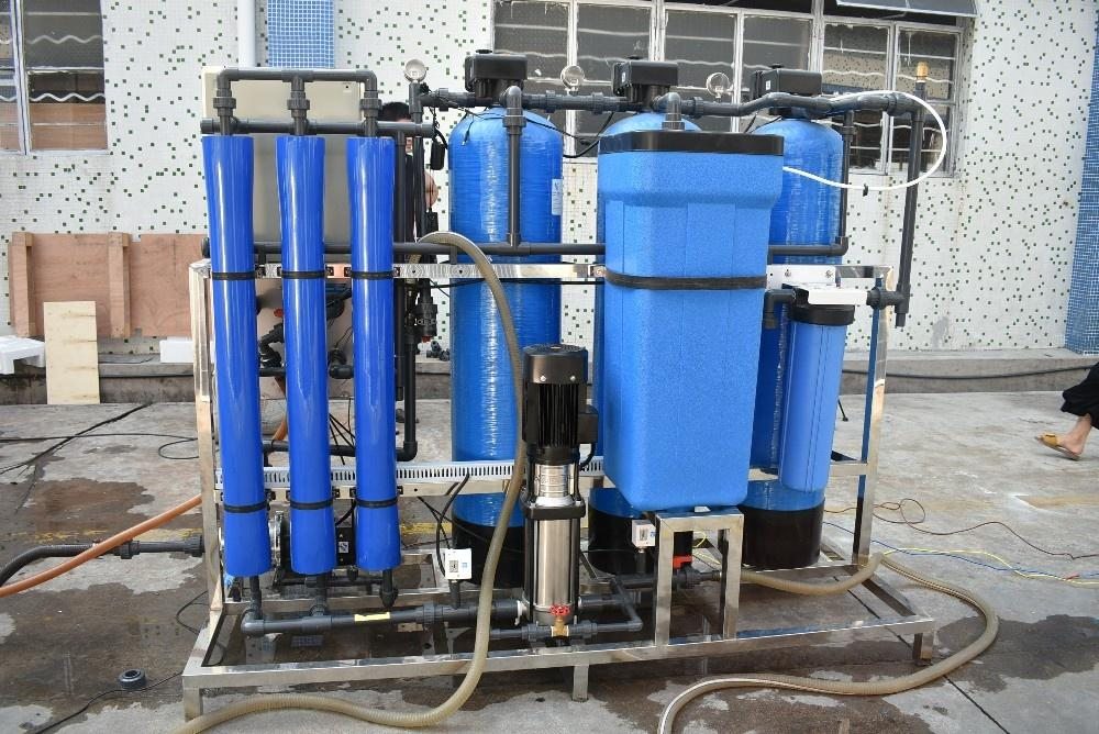 750LPH Solar energy Water Purification Systems Project RO PurifierReverse Osmosis Drinking water treatment